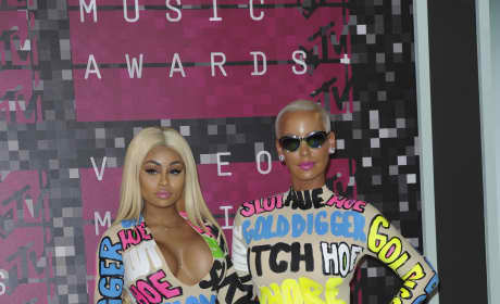 Amber Rose at the 2015 VMAs