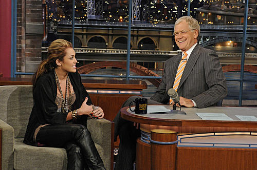 Miley and Dave