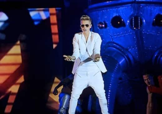 Justin Bieber Concert Shot