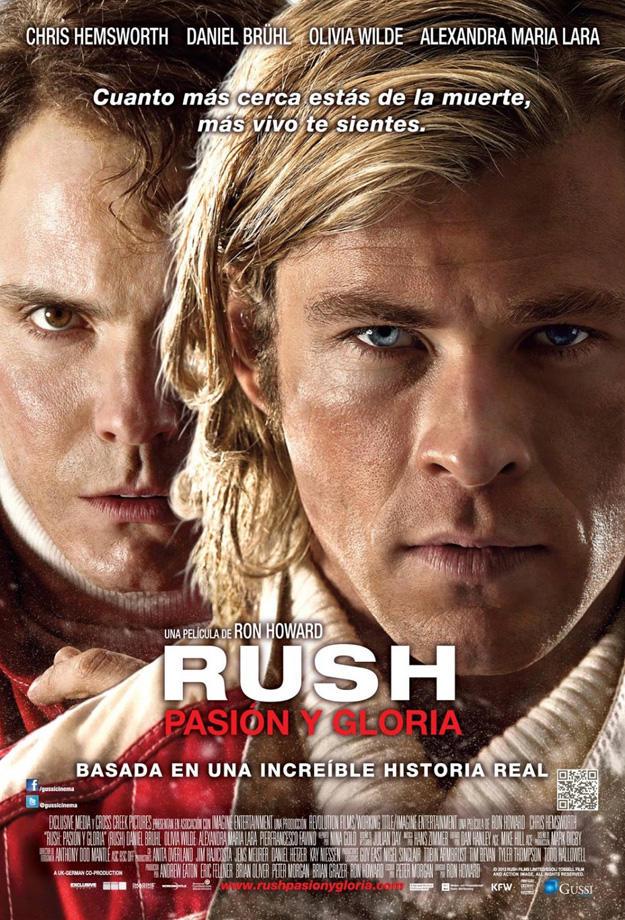 Rush Movie International Poster
