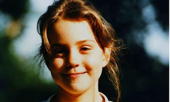 Kate Middleton as a Kid