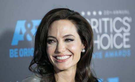 Angelina Jolie Smiles