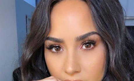 Demi Lovato Gets Up Close