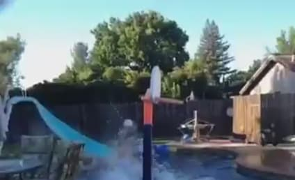 Seven-Person Pool Alley-Oop Dunk: Best Sports Highlight Ever!