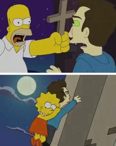 Simpsons/Twilight
