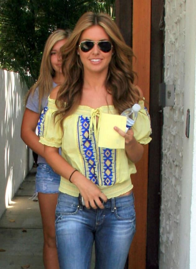 Audrina Exits