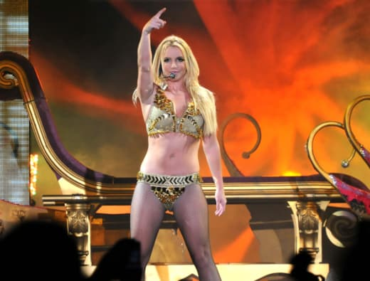 Britney Spears Live in Concert Pic