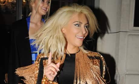 Do you like Kim Kardashian's blonde hair?