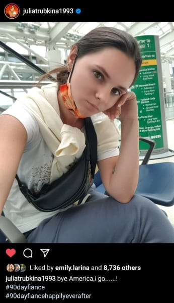 Julia Trubkina IG - bye America, I go (blank)