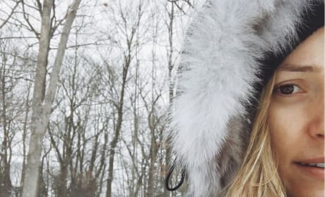 Kristin Cavallari: Makeup-Free Snow Day!