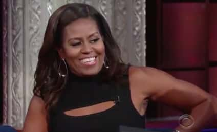 Michelle Obama Impersonates Barack, Gushes Over Beyonce