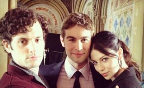 Gossip Girl Throwback Photo
