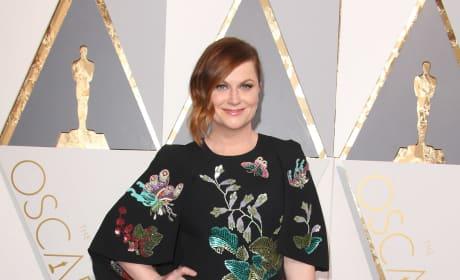 Amy Poehler at the 2016 Oscars