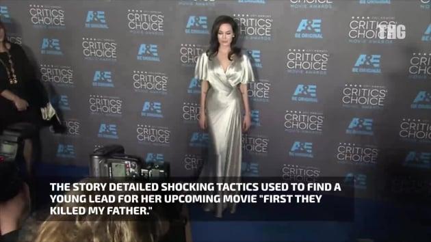 Angelina Jolie Slams Vanity Fair Article