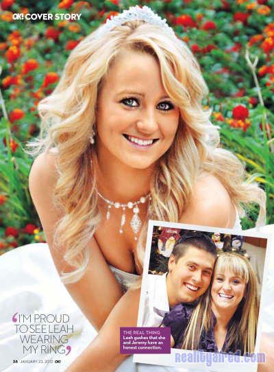 Leah Messer Wedding Dress