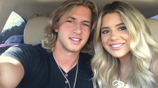 Brielle Biermann and Michael Kopech Photo
