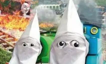 NRA Dresses Thomas the Train in KKK Hood for Some Reason