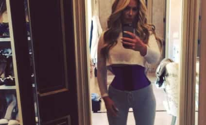 Kim Zolciak Lies About Weight Loss, Uses Waist Trainer