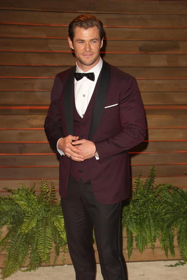 Chris Hemsworth in a Tux