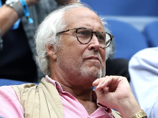 Chevy Chase at the US Open