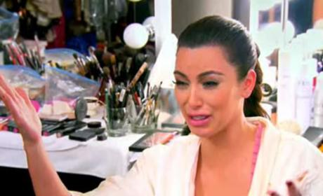 Kim Kardashian Crying Photo