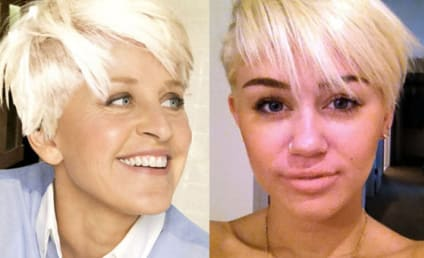 Ellen DeGeneres Makes Like Miley, Copies Haircut