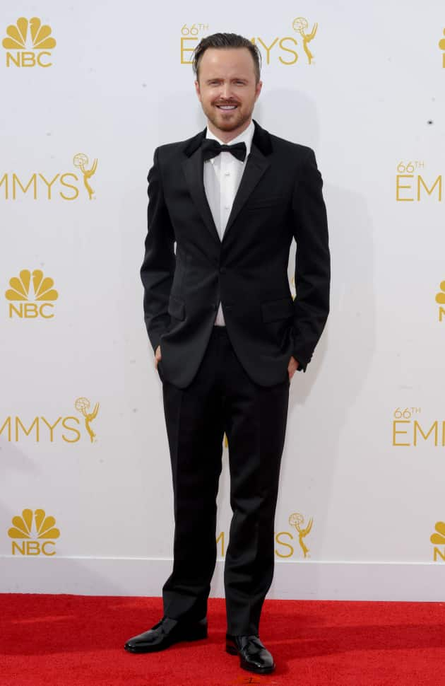 Aaron Paul at the 2014 Emmys