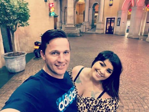 Ronald Smith and Tiffany Franco Smith in Montecasino