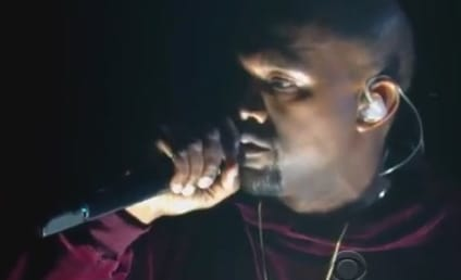 """Kanye West Performs """"Only One"""" at Grammy Awards, Pours Heart Out in Velour Sweatsuit"""