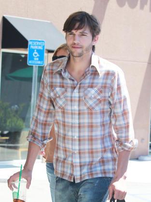Ashton Kutcher on the Street