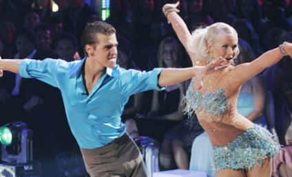 Julianne Hough: Gorgeous, Sidelined for Two Weeks