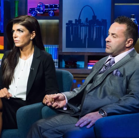 Teresa Giudice and Joe on Bravo