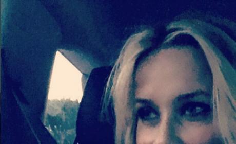 Reese Witherspoon birthday selfie
