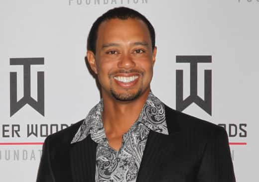 Tiger Woods, Goatee