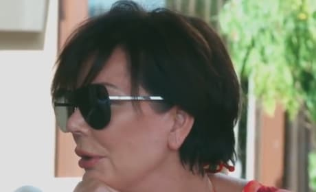 Kris Jenner in Jamaica