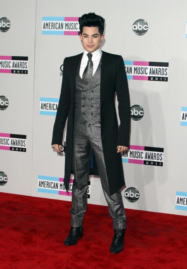 Adam Lambert at the AMAs