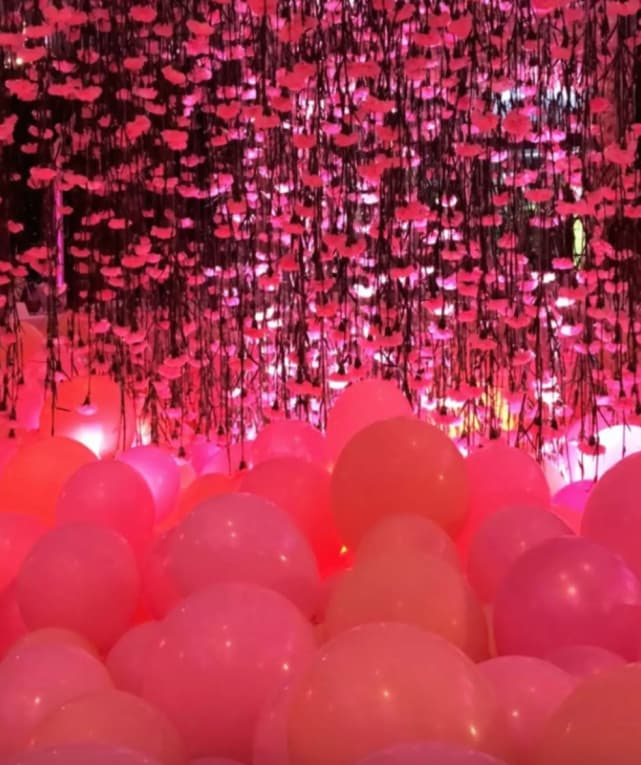 So much pink