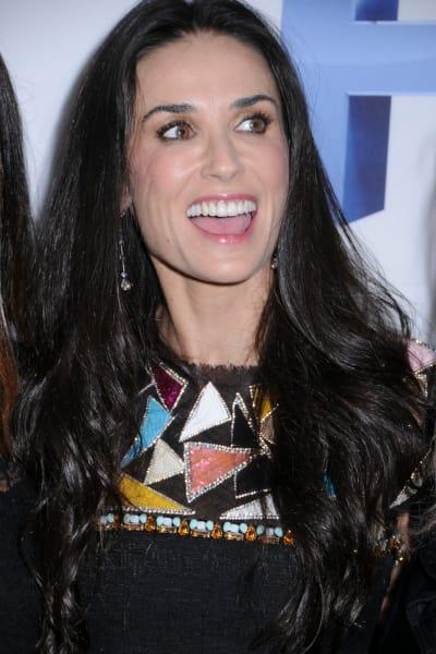 Demi Moore Premiere Photograph