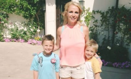 Britney Spears, Sons Pose For Cute Photo: They're Getting So Big!
