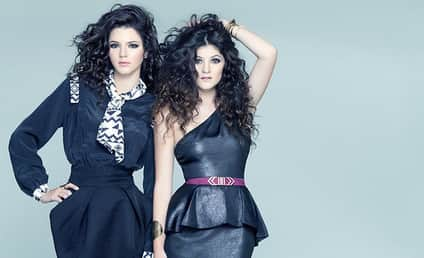 Kendall and Kylie Jenner Strike a Chic Pose