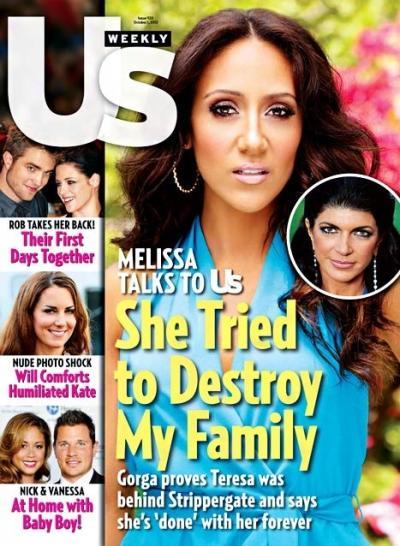 Melissa Gorga Us Weekly Cover