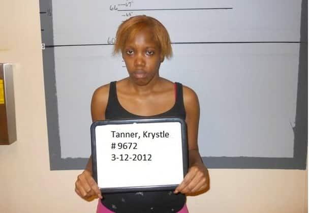 Krystle Tanner Mug Shot