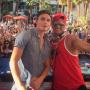 James Kennedy and Pauly D in Las Vegas