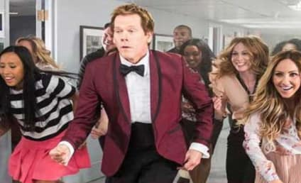 """Kevin Bacon Recreates """"Footloose"""" Dance on The Tonight Show"""