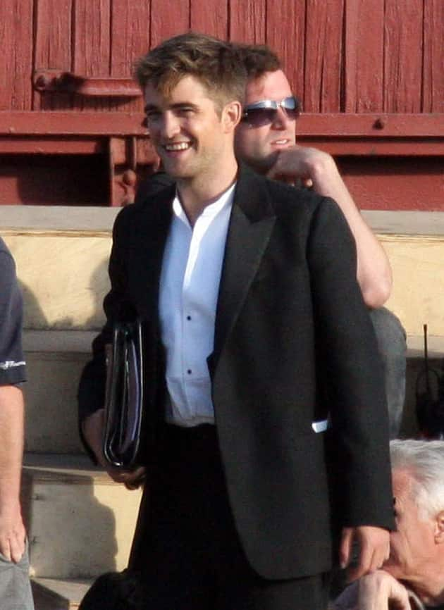 Filming Water for Elephants