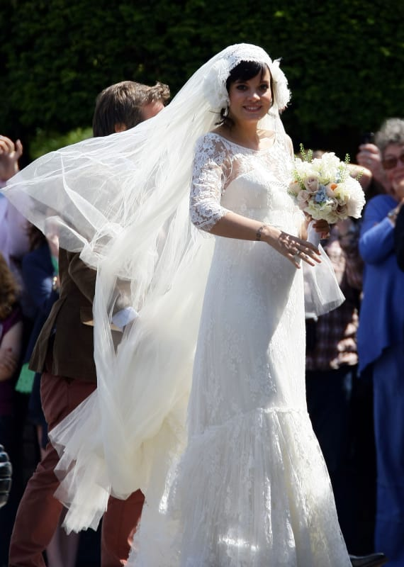 33 Celebrity Wedding Dresses We Wish We Wore - Page 4 - The ...
