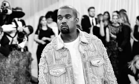 Kanye at the MET Gala