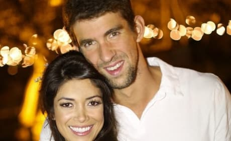 Nicole Johnson, Michael Phelps Pic