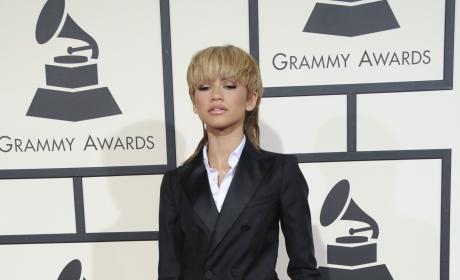 Zendaya Coleman at 2016 Grammys