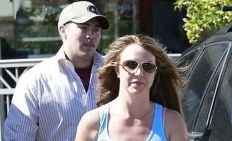 David Lucado, Britney Spears Photo